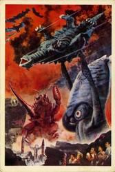 File:Space Amoeba Production Art - 5 - Ganimes X Kamoebas X Gezora.jpg