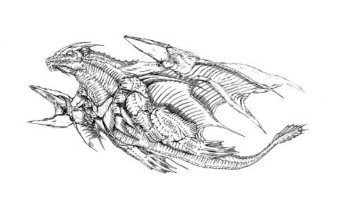 File:Concept Art - Rebirth of Mothra 2 - Dagahra 3.png