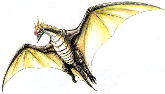 File:Concept Art - Godzilla vs. MechaGodzilla 2 - Rodan 4.png