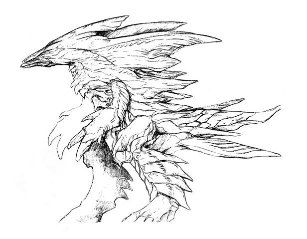 File:Concept Art - Godzilla 2000 Millennium - Orga 70.png