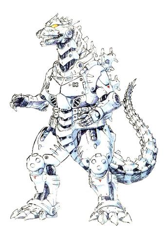 File:Concept Art - Godzilla Against MechaGodzilla - Kiryu 52.png
