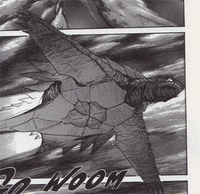 GvsB Manga Gamera flying