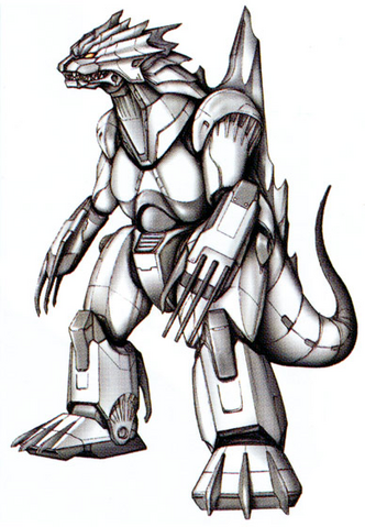 File:Concept Art - Godzilla Against MechaGodzilla - Kiryu 2.png