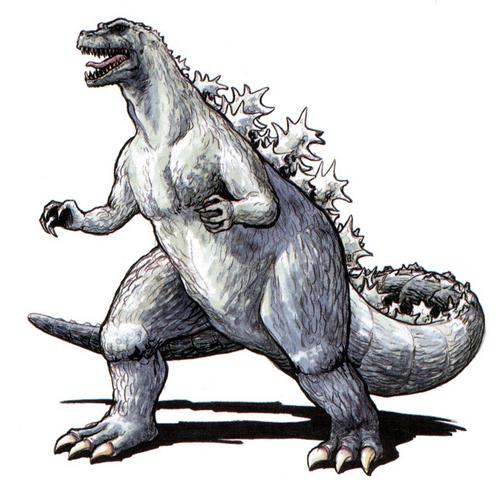 File:Concept Art - Godzilla vs. King Ghidorah - Godzilla 1.png