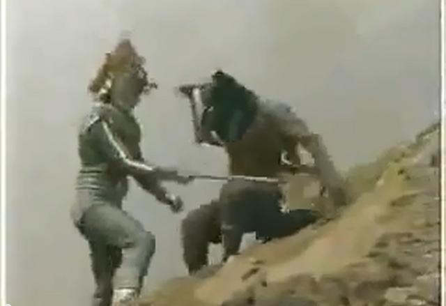 File:Greenman - Monsters - Hotter battling Greenman.png