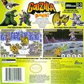 Godzilla Domination Back Cover