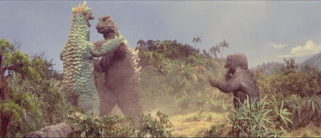File:All Monsters Attack - Godzilla is so pissed he wants to destroy Gabara.png