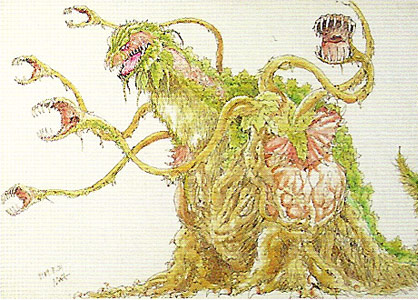 File:Concept Art - Godzilla vs. Biollante - Biollante 4.png