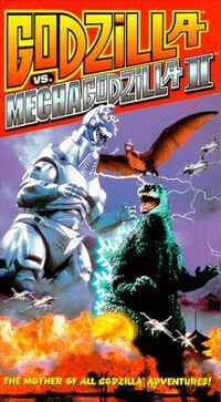 Godzilla vs. MechaGodzilla II VHS