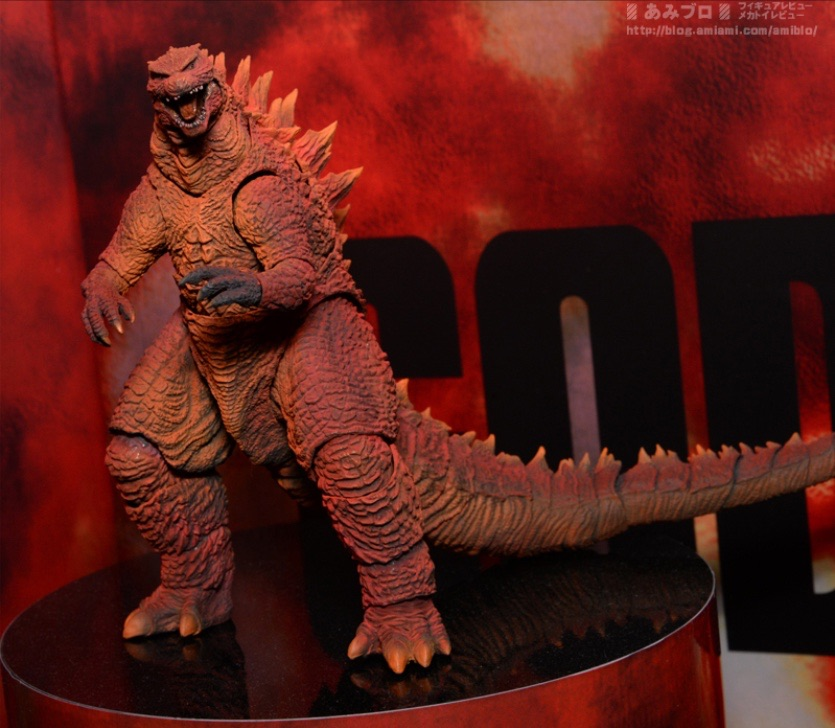 S.H. Monsterarts Red Godzilla 2014