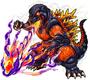 Godzilla X Monster Strike - Burning Godzilla