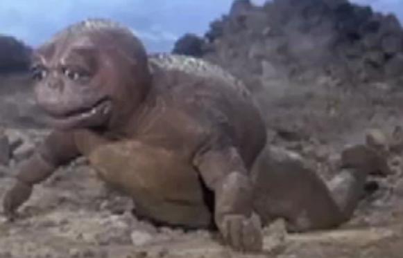 File:Son of Godzilla 1 - Newly hatched Minilla.png