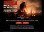 IMAX Godzilla Fan Art 2014 Contest