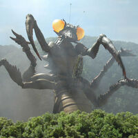 Godzilla.jp - Impaled Kamacuras