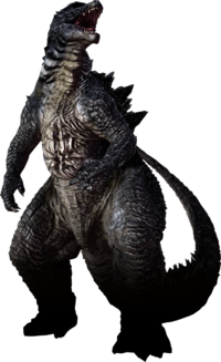 PS3 Godzilla 2014 No Background