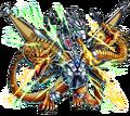 Godzilla X Monster Strike - Mecha-King Ghidorah