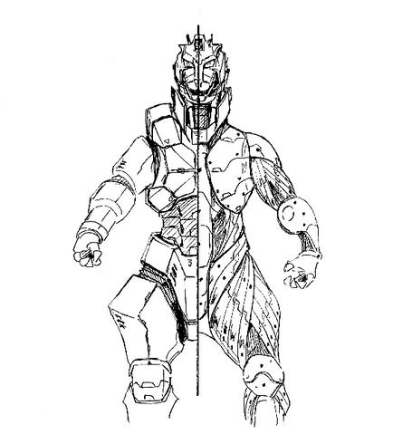 File:Concept Art - Godzilla Against MechaGodzilla - Kiryu 25.png