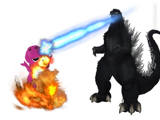 File:Godzilla's reaction to Barney 2017 reboot.jpeg