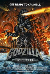 Godzilla 2000 American poster 01