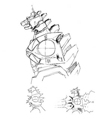File:Concept Art - Godzilla Against MechaGodzilla - Kiryu 18.png