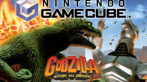 GCN All Monster Intros (Godzilla Destroy All Monsters Melee)