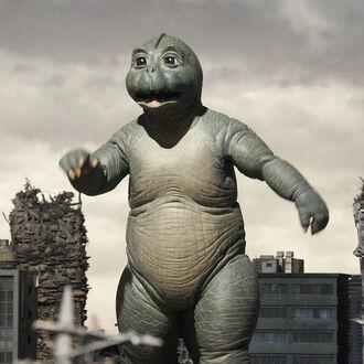 Minilla in Godzilla: Final Wars (click to enlarge)