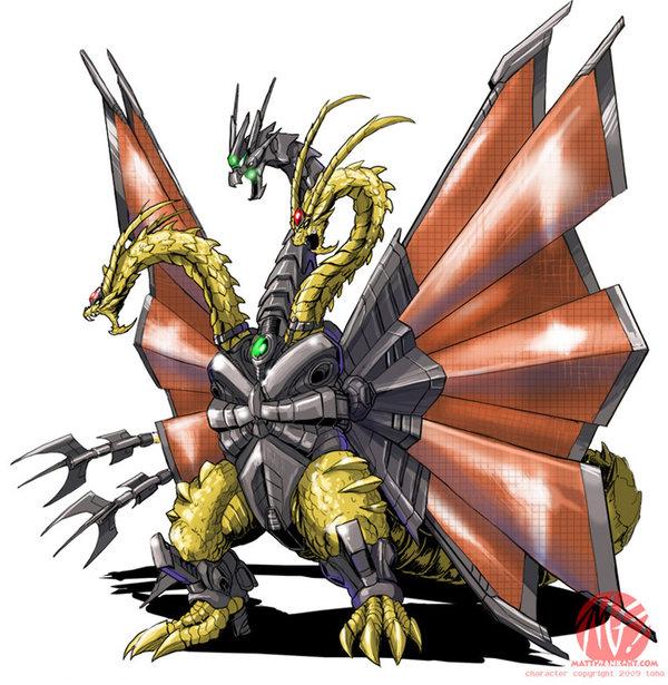 Godzilla Vs Mecha King Ghidorah Godzilla Neo: M K G | ...