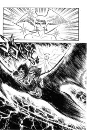 Zenon and Satan in Violence Jack manga