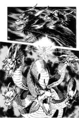 Zenon Dragon Form Violence Jack Manga