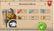 Norseman with ax