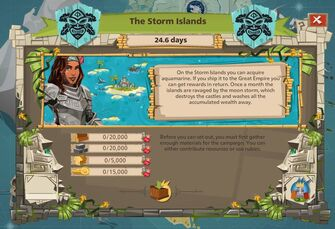 The storm islands