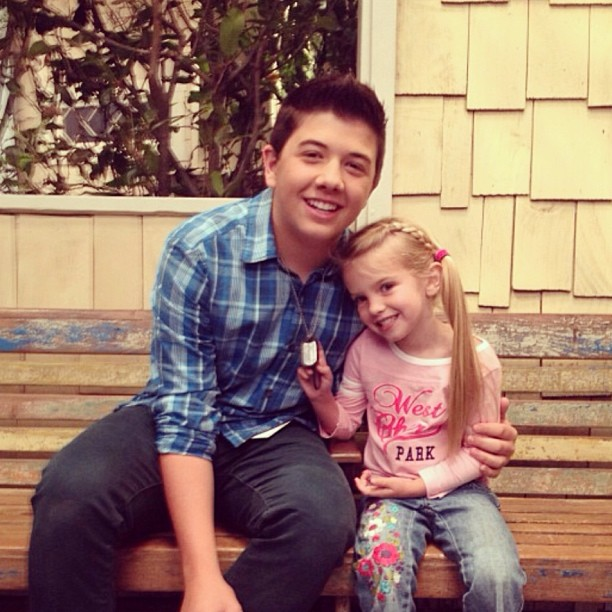 Image - Bradley Steven Perry and Mia Talerico.jpg | Good ...
