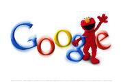 Elmo Google Logo