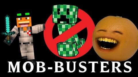 Non Stop Annoying - MOB-BUSTERS (Ghostbusters Minecraft Song Parody)