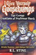 The Creepy Creations of Professor Shock - UK Cover