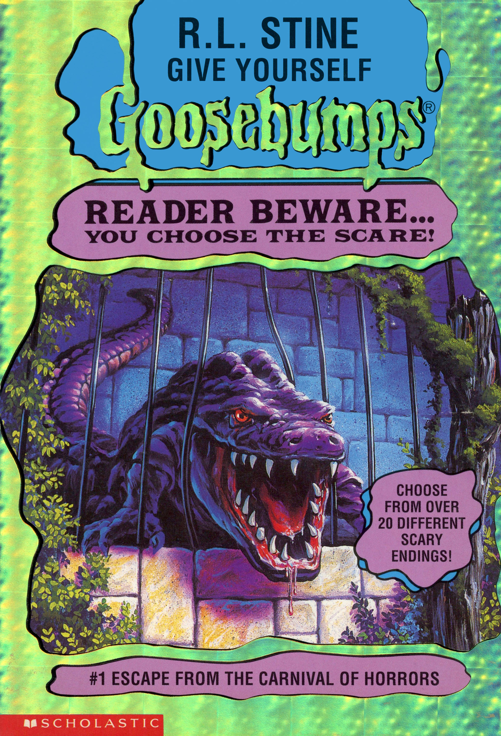 Scary woods photo edit - Escape From The Carnival Of Horrors Goosebumps Wiki
