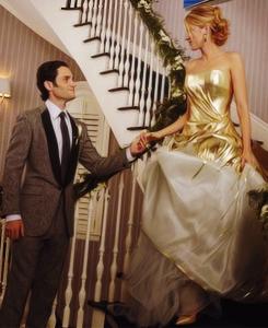 Gossip girl season 6 yellow dress loose