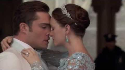 """Gossip Girl 6x10 - Chuck & Blair get married """"3 words 8 letters"""" then Chuck is arrested"""