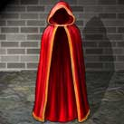 Delicate Satin Cloak
