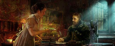 World Merchant with Books