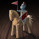Wooden Toy Knight