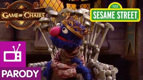 Sesame Street Game of Chairs (Game of Thrones Parody)