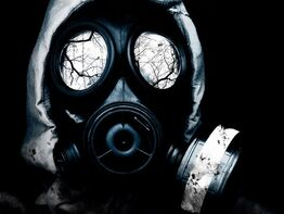 Gas Mask by Kronkimus