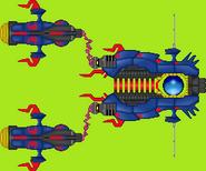 Mayhem Warship in Otomedius