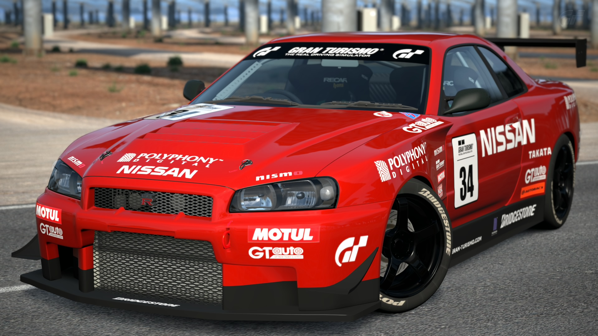 nissan skyline gt r r34 touring car gran turismo wiki. Black Bedroom Furniture Sets. Home Design Ideas