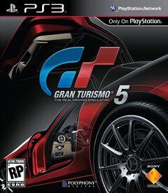 Gran Turismo 5 Front Cover