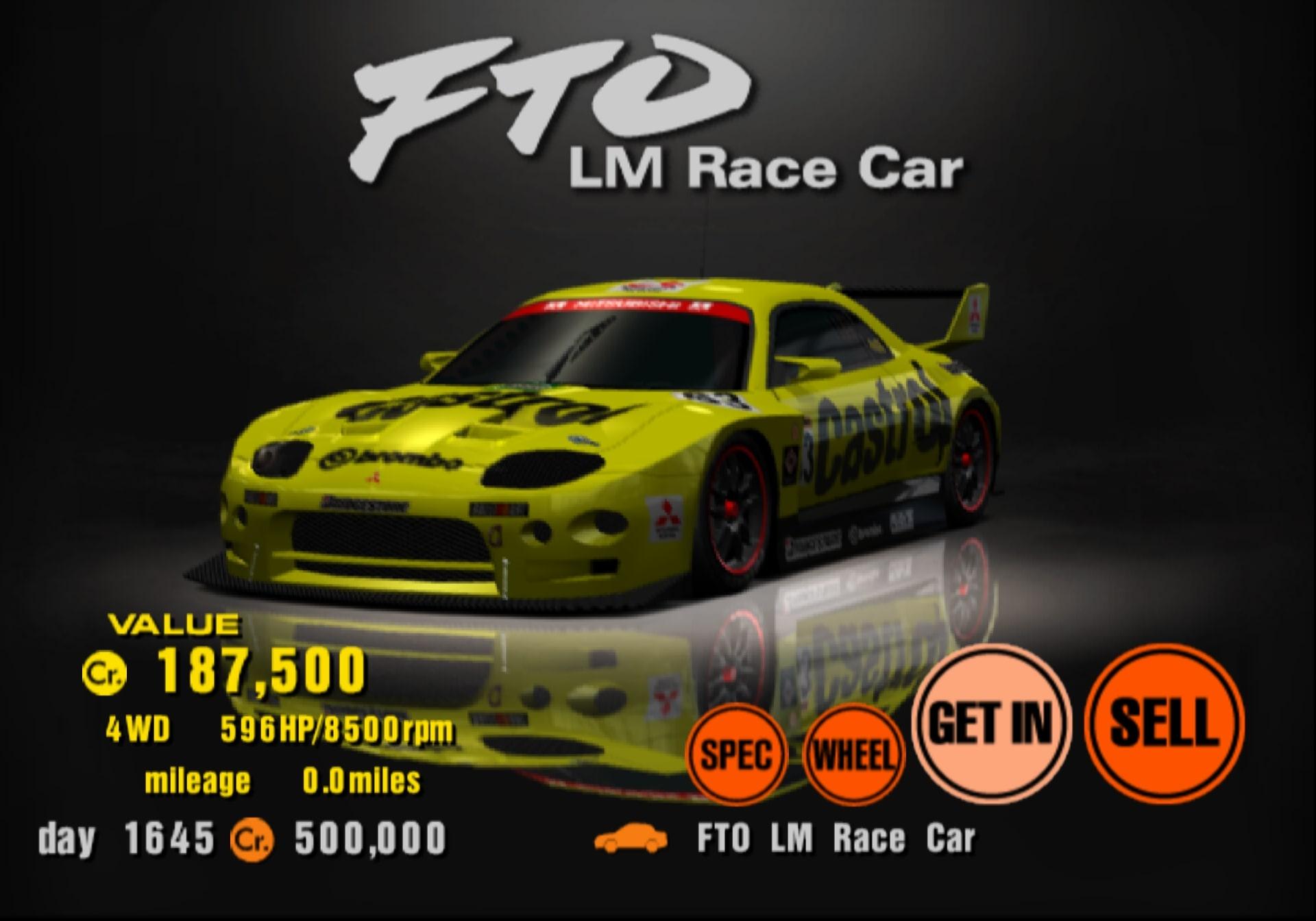 Mazda 3 Wiki >> Mitsubishi FTO LM Race Car | Gran Turismo Wiki | Fandom ...
