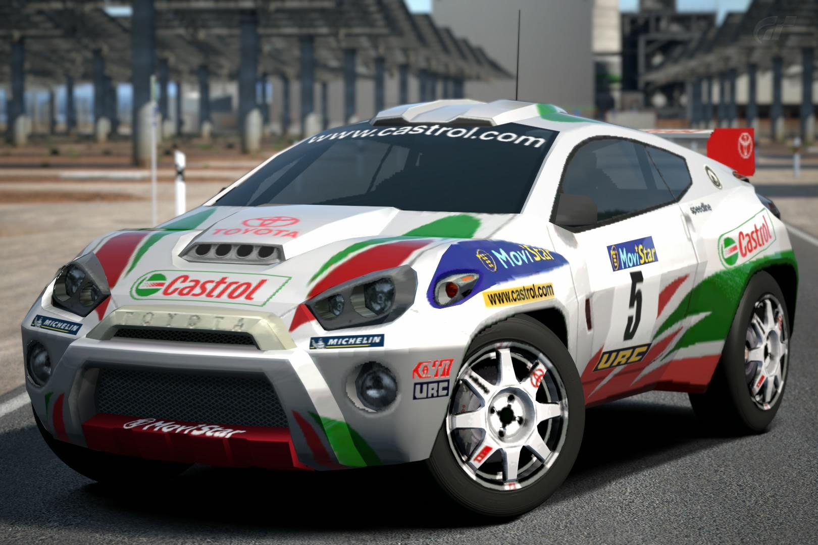 Toyota Rsc Rally Raid Car Gran Turismo Wiki Fandom