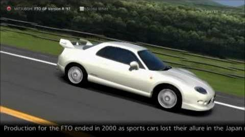 Mitsubishi FTO GP Version R '97-0