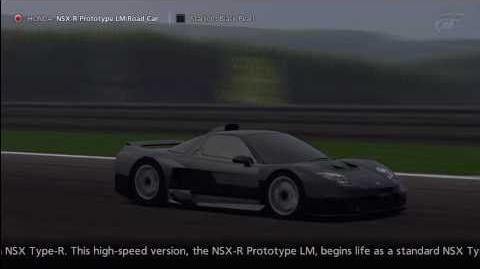 Gran Turismo 5 - Honda NSX-R Prototype LM Road Car
